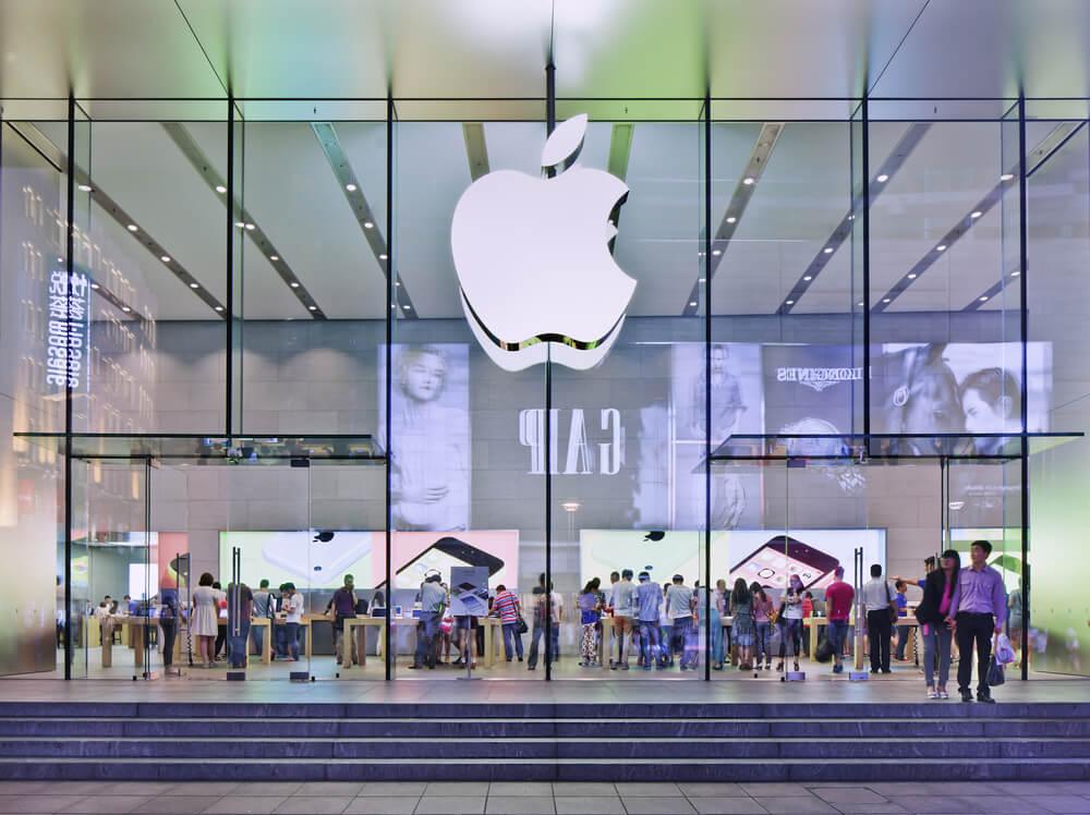 Apple flag-store.