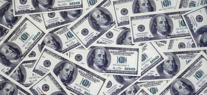 U.S. dollar hit high after Powell's speech on Thursday