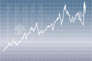 Line stock chart
