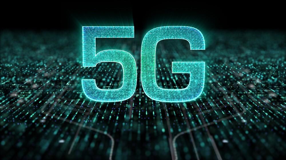holographic 5G icon digital wireless