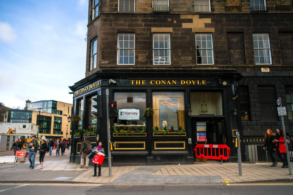 Street view of The Conan Doyle Pub