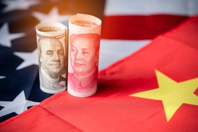 U.S dollar and Chinese Yuan