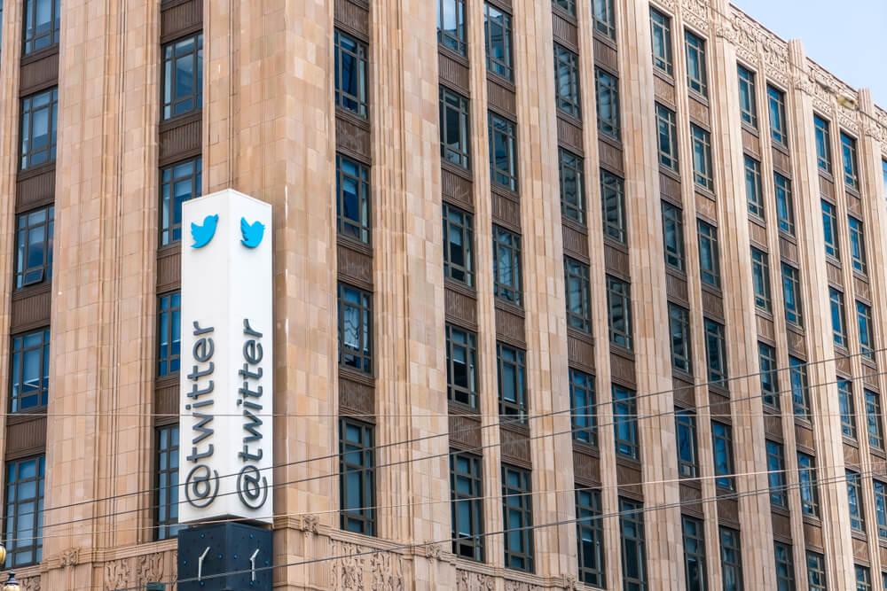 Twitter headquarters.