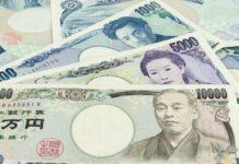 Japanese yen increased