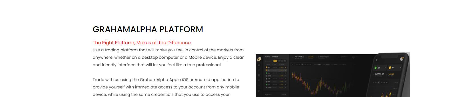 Graham Alpha Trading Software