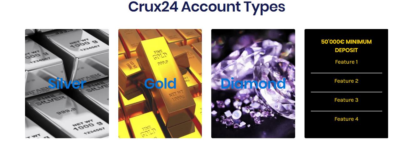 Crux Account Types
