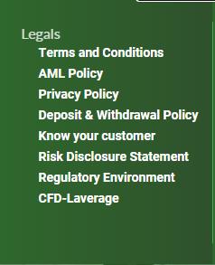 FxCryptoClub Legals