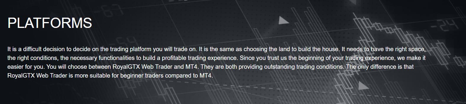 Royal GTX Platforms