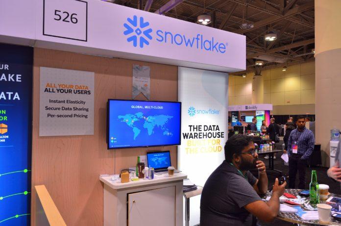 Snowflake and stock exchange