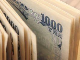 Japanese Yen and dollar