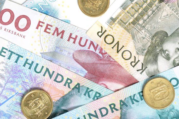 Canadian dollar fell along with Norwegian krone.