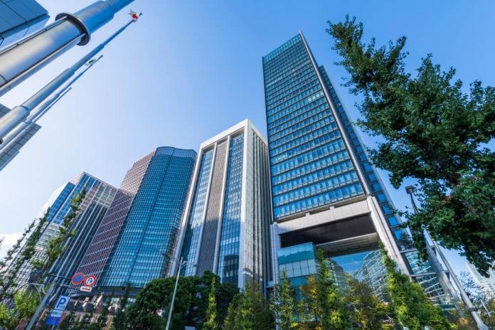 The landscape of Tokyo Marunouchi.