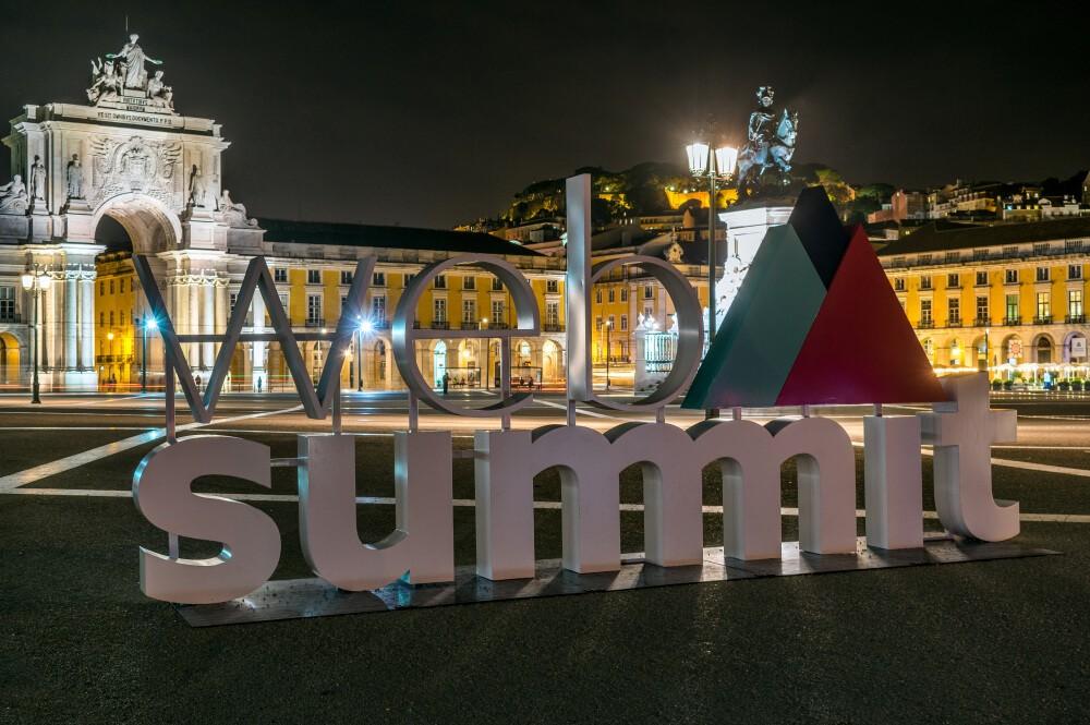 Web Summit sign