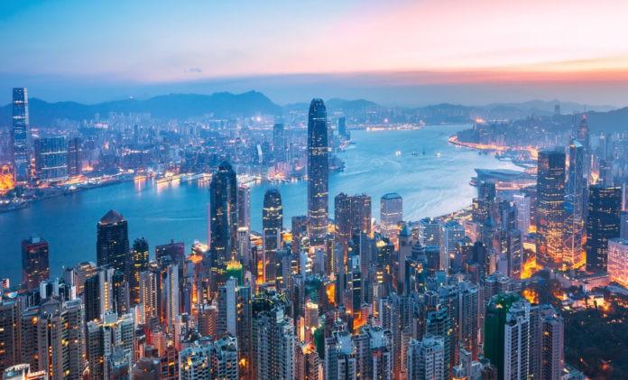 Amazing view in Hong Kong