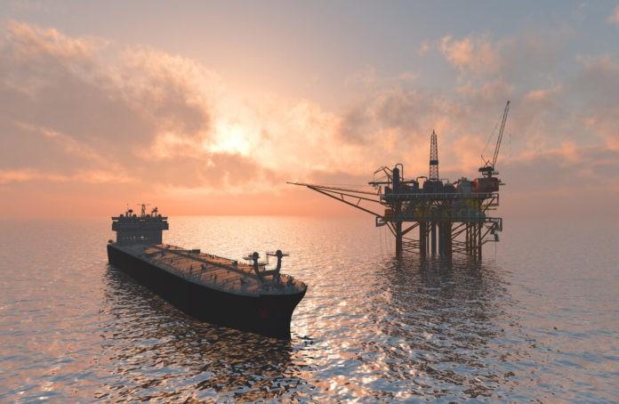 Oil production into the sea
