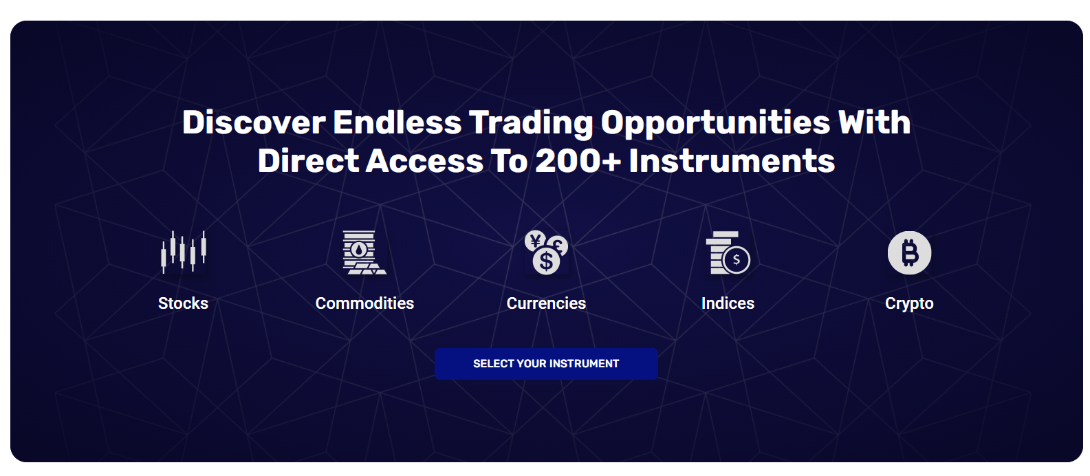 Investment Center: trading products