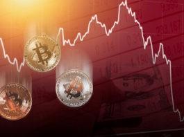 Bitcoin price decrease