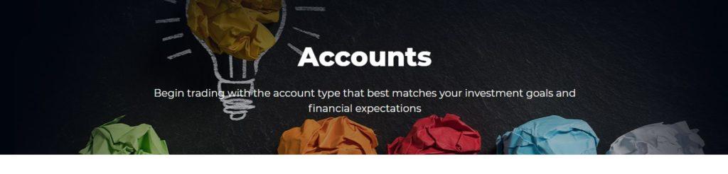 RSQtrade trading accounts