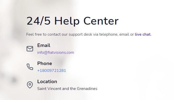 Fiatvision helpcenter
