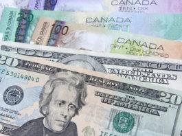 dollar, usd-cad-american-canadian-dollars