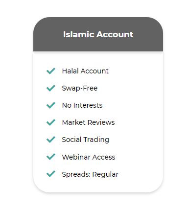 Winbitx Islamic account